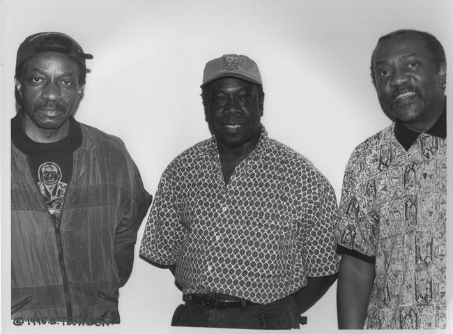 Reggie Workman, Andrew Cyrille, Oliver Lake