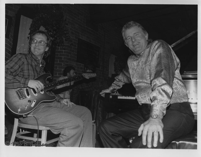 Bill Mays (right) & Lorne Lofsky