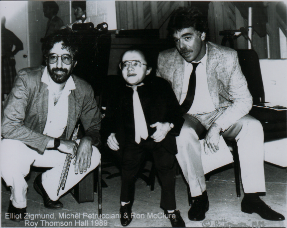 Elliot Zigmund, Michel Petrucciani & Ron McClure
